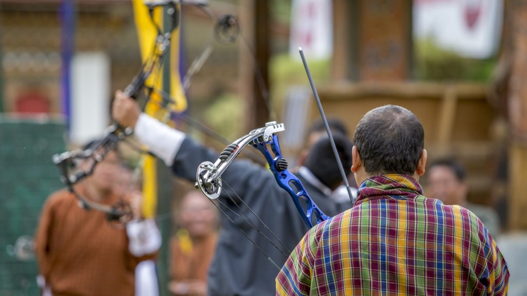 Archery, Bhutan