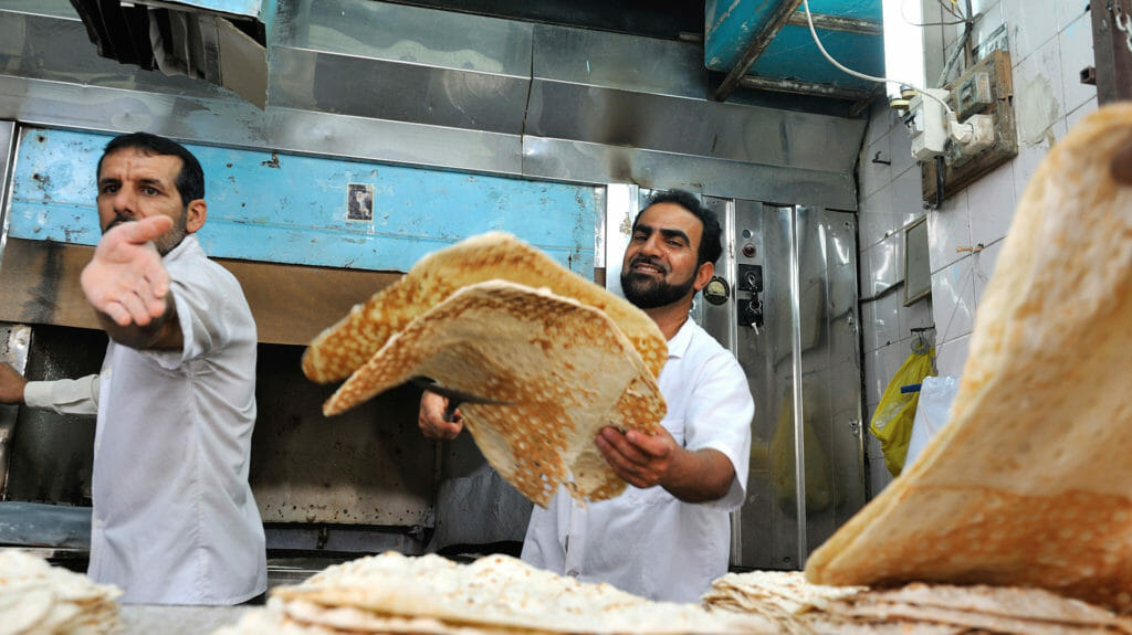 Bakery, Shushtar, Iran