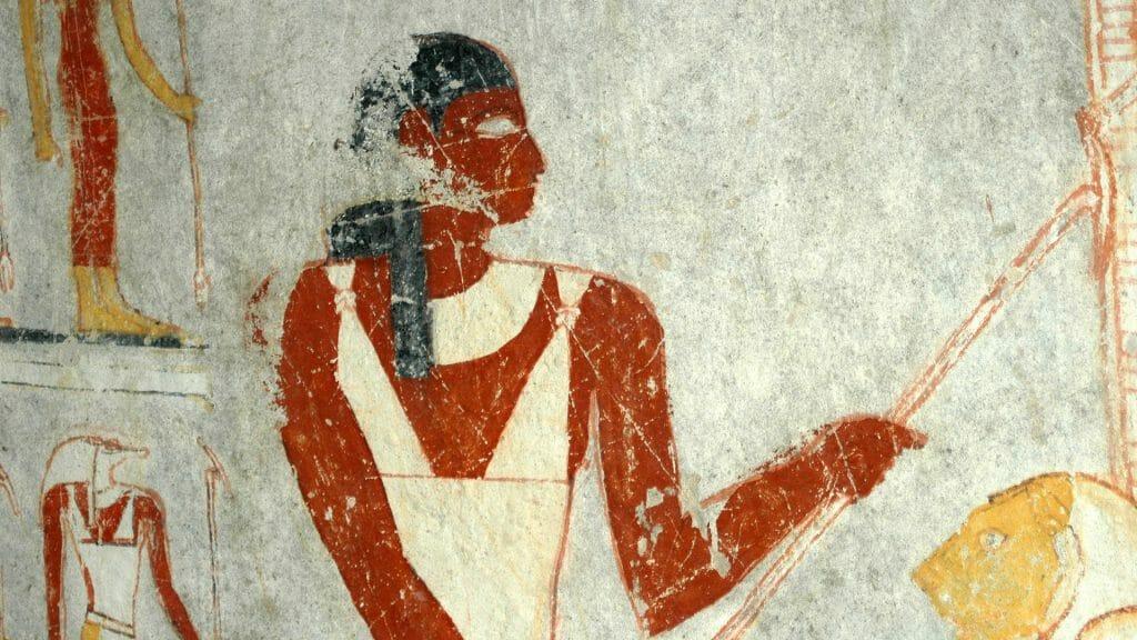 El Kurru murals, Meroe, Sudan