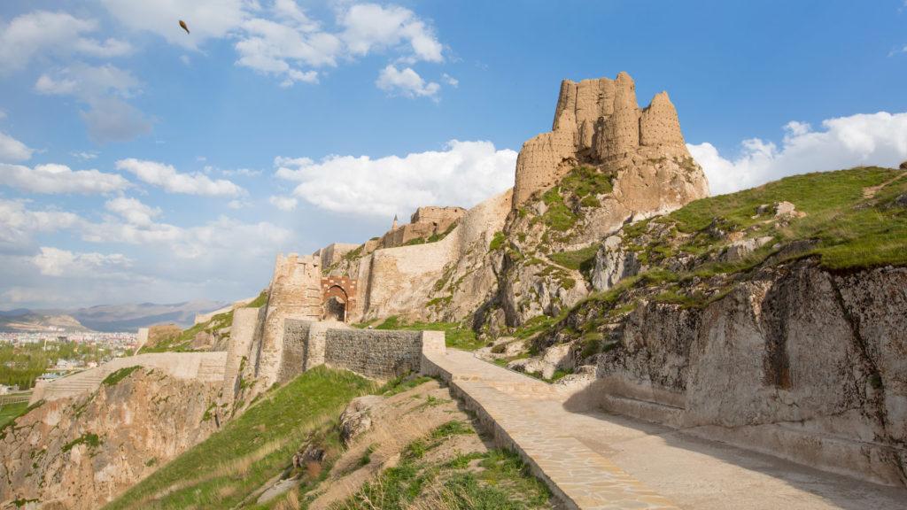 Ancient Fortress, Van, Turkey