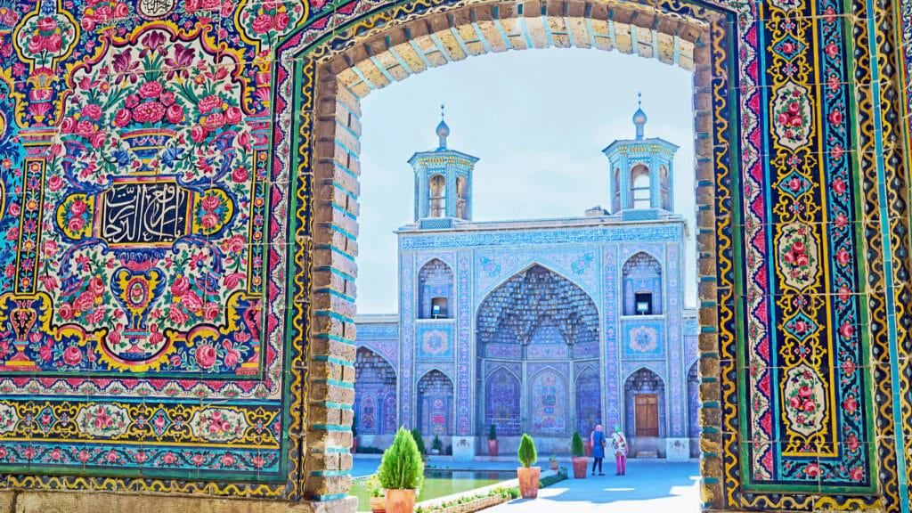 Nasir Ol-Molk Mosque, Shiraz, Iran