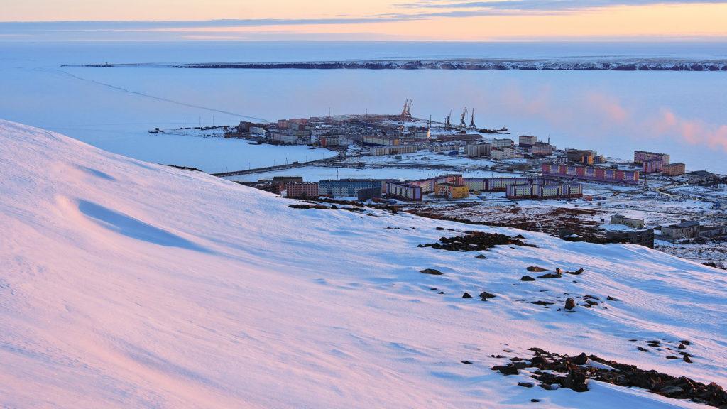 Pevek, Chukotka, Siberia, Russian Arctic