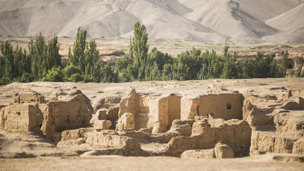 The Ruins Of Jiaohe, Turpan City, Xinjiang, China