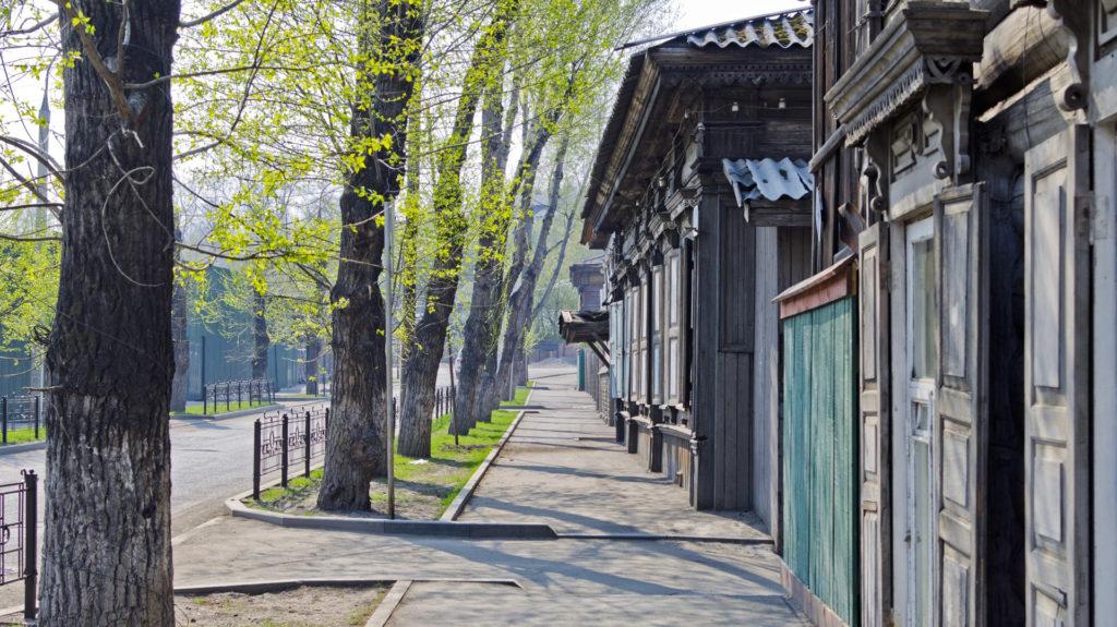 Wooden Houses, Irkutsk, Russia