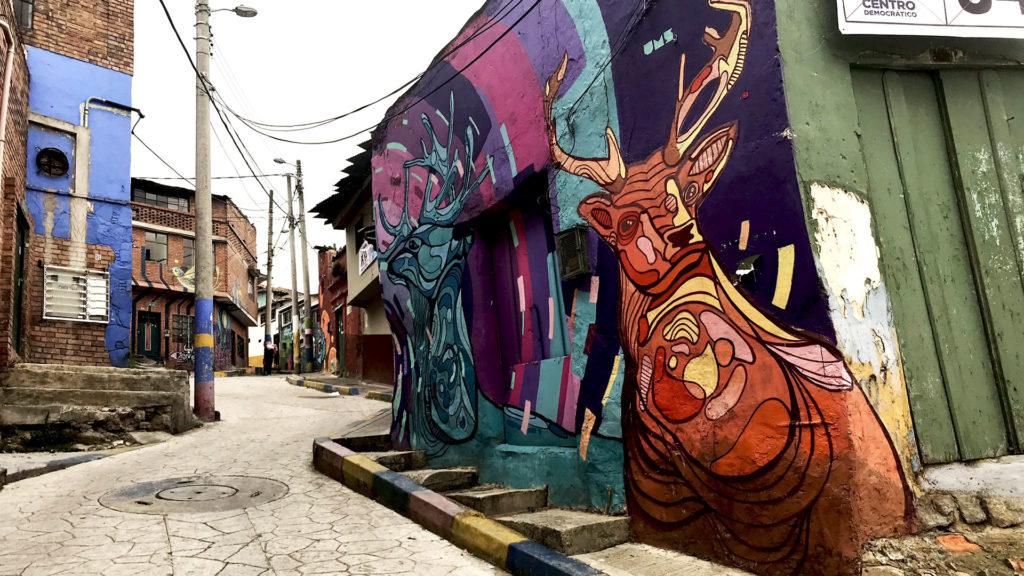 Egipto neighbourhood in Bogota, Colombia