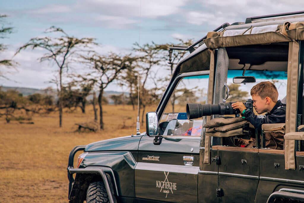 Kicheche Mara Camp electric vechile kenya