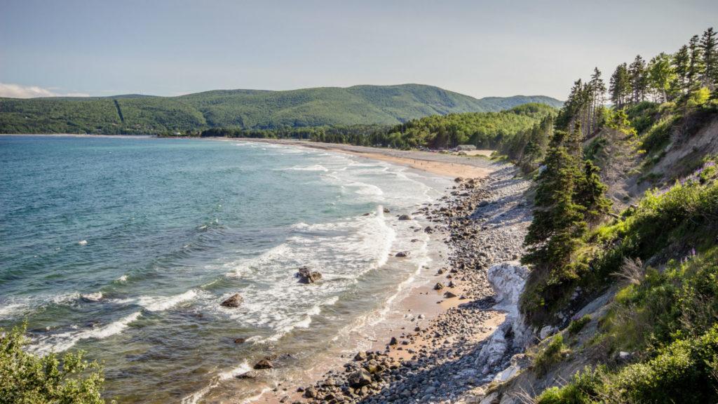 Ingonish Beach, cape Breton, Nova Scotia, Canada, Maritimes