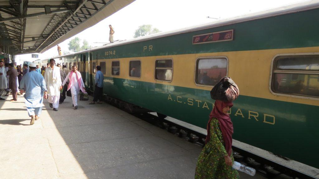 Train Carriage, Rohri Station, Sukkur, Sindh, Pakistan