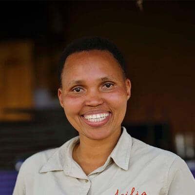 Angel Vendeline Namashali, Dunia Camp, Tanzania