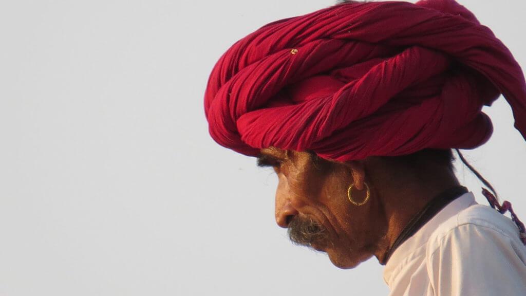 Rabari Herdsman, Jawai, India